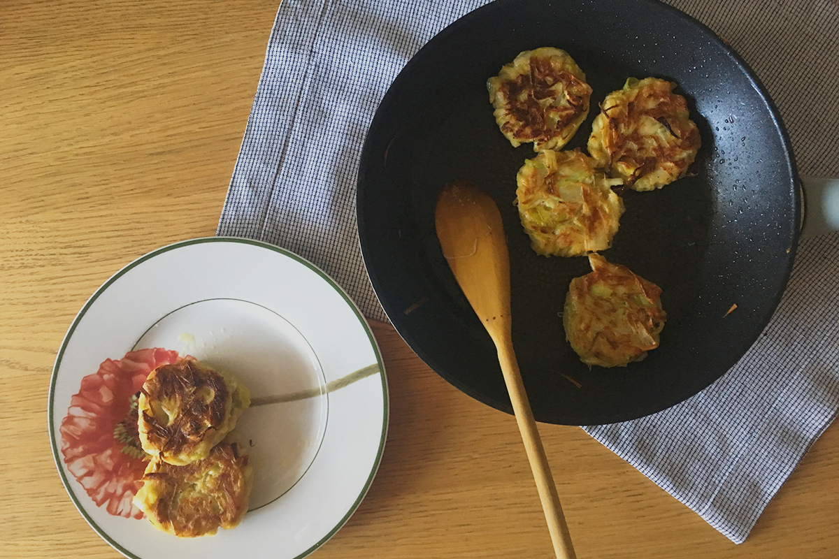 Tortitas de puerro | Feelomena's Kitchen